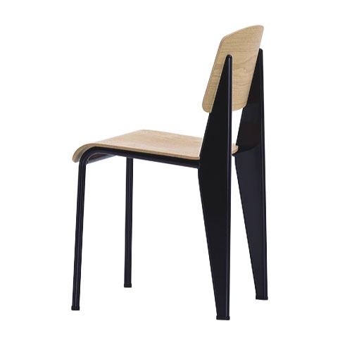 Chaise standard mobilier int rieurs - Jean prouve chaise ...