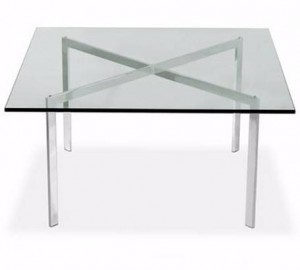 Table barcelona - Mies van der Rohe