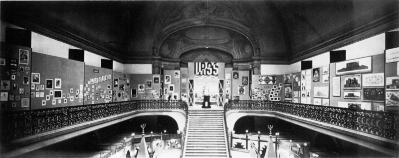 Pavillon urss paris 1925 for Architecture urss