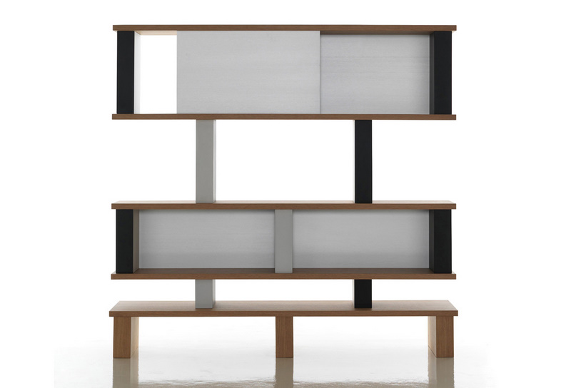 Etag res 518 plurima mobilier int rieurs - Bibliotheque perriand ...