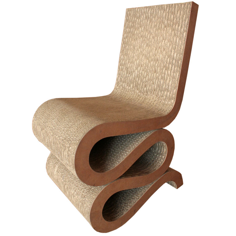 Global Views Wiggle Chair: Mobilier & Intérieurs