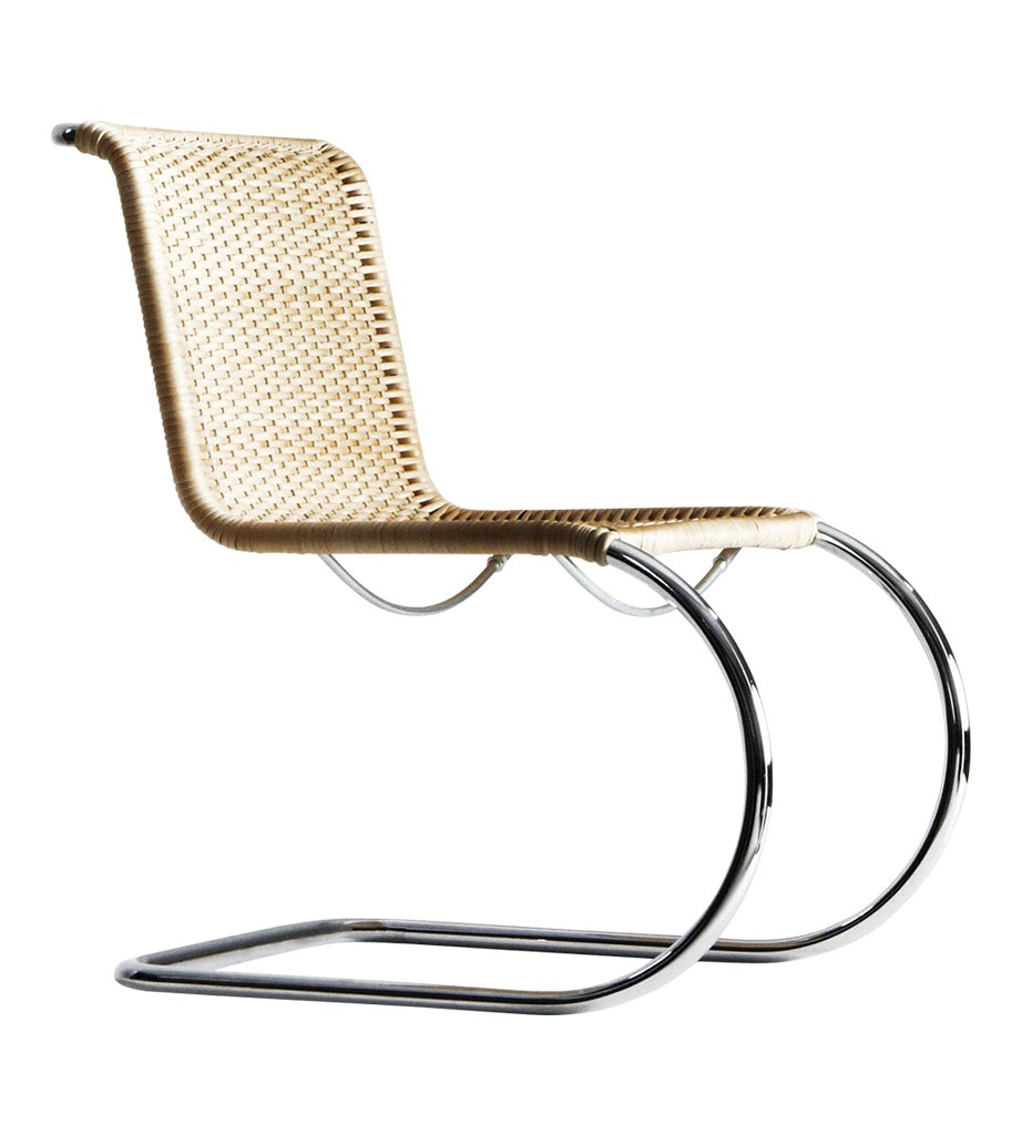 Chaise s533 mobilier int rieurs - Chaise mies van der rohe ...