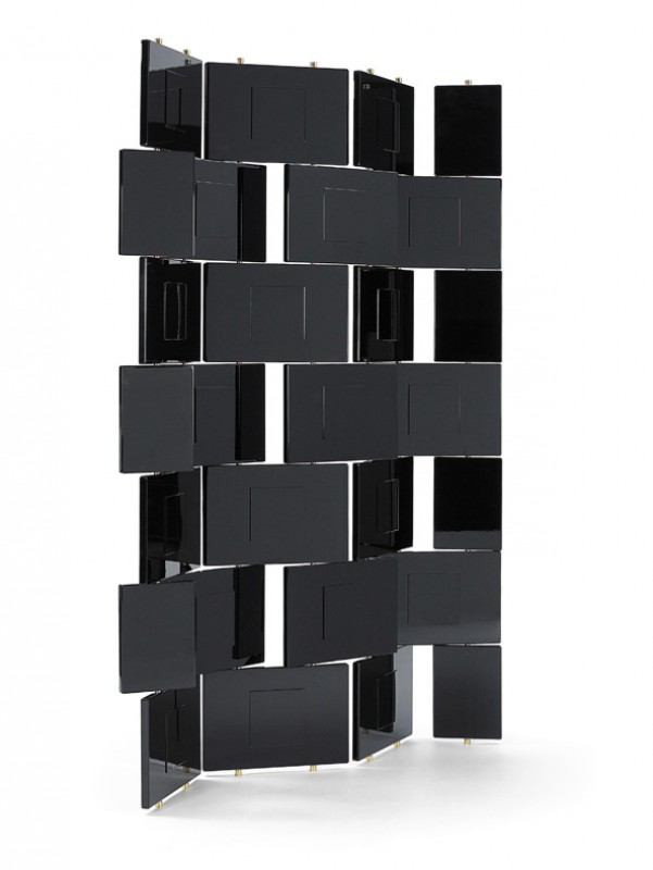 brick screen eileen gray mobilier int rieurs. Black Bedroom Furniture Sets. Home Design Ideas