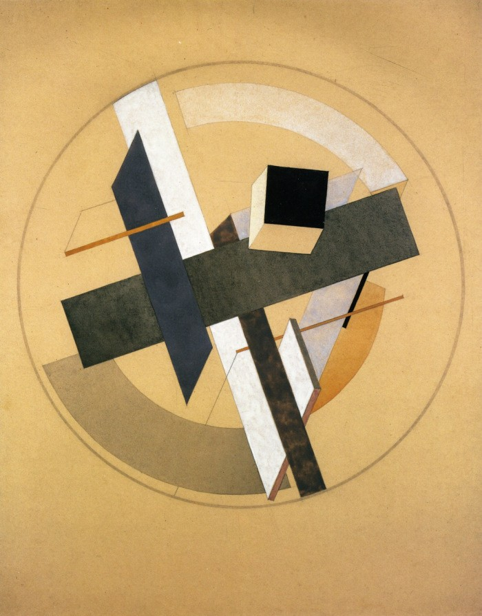 proun-aii-el-lissitzky-1920-private-collection-drawing ...